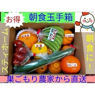 朝食玉手箱♥朝食野菜とデザート果物♥巣ごもり農家から直送(フルーツ)