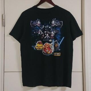スターウォーズ×アングリーバード コラボTシャツ キャラクター古着(Tシャツ/カットソー(半袖/袖なし))