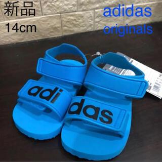 アディダス(adidas)の新品タグ付き アディダスオリジナルス adidas サンダル 14cm(サンダル)