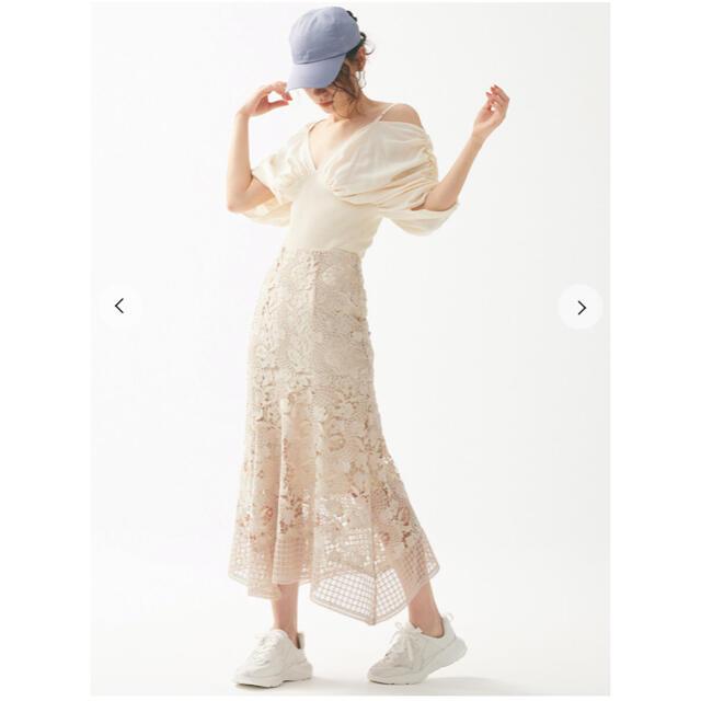snidel(スナイデル)のマーメイドレーススカート 美品 レディースのスカート(ロングスカート)の商品写真