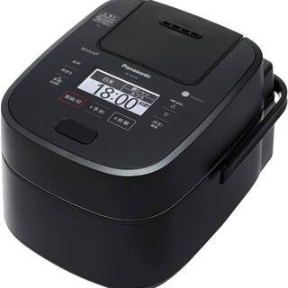 パナソニック(Panasonic)のパナソニック 炊飯器 1升 スチーム&可変圧力IH式 SR-VSX189-K(炊飯器)