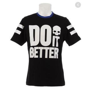 ハイドロゲン(HYDROGEN)の新品 ハイドロゲン DO IT BETTER Tシャツ RG0002  Lサイズ(Tシャツ/カットソー(半袖/袖なし))