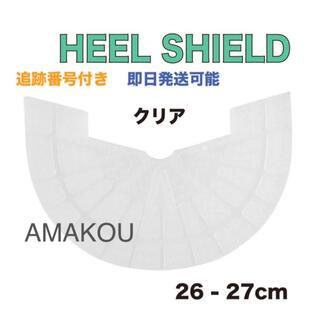 ヒールシールド HEEL SHIELD   Mサイズ クリア カカト擦れ防止に(スニーカー)