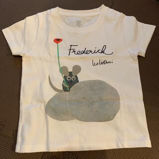 Design Tshirts Store graniph - Tシャツ グラニフ レオ.レオニ 100㎝ 記名あり 汚れあり