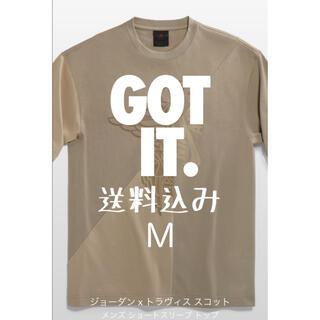 ナイキ(NIKE)のNIKE ジョーダン×トラヴィス カクタスジャック Tシャツ M(Tシャツ/カットソー(半袖/袖なし))