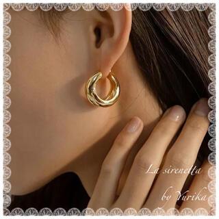 STAR JEWELRY - 14kgf simple hoop pierce