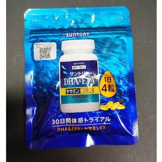 サントリー(サントリー)の【新品未使用】DHA&EPA セサミンEX オリザプラス 120粒(その他)