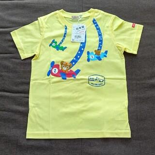 mikihouse - 120ーイエロー 新品 タグ付き ミキハウス プッチー Tシャツ