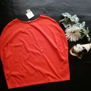 イオン(AEON)のトップバリュー♡インパクトカラーTシャツカットソー(カットソー(半袖/袖なし))