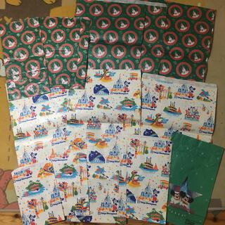 Disney - ディズニーランド 紙袋 お土産袋 レトロ 13枚セット