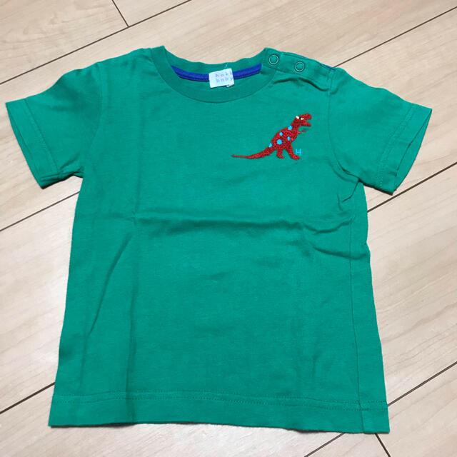 hakka baby(ハッカベビー)のhakka baby Tシャツ キッズ/ベビー/マタニティのキッズ服男の子用(90cm~)(Tシャツ/カットソー)の商品写真
