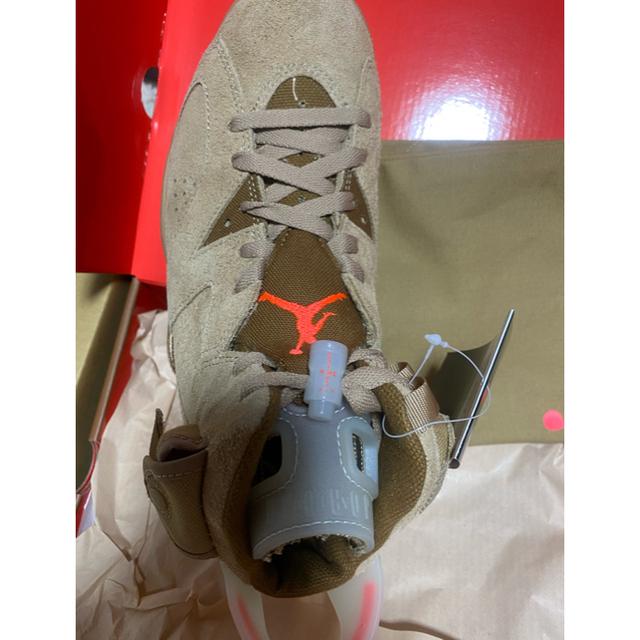 NIKE(ナイキ)のNIKE travis scott air jordan 6 メンズの靴/シューズ(スニーカー)の商品写真