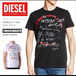 ディーゼル(DIESEL)の美品 Tシャツ ディーゼルTシャツ Mサイズ相当 ブラック (Tシャツ/カットソー(半袖/袖なし))