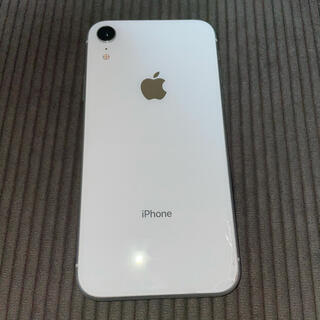 Apple - iPhone XR ホワイト White 64GB docomo
