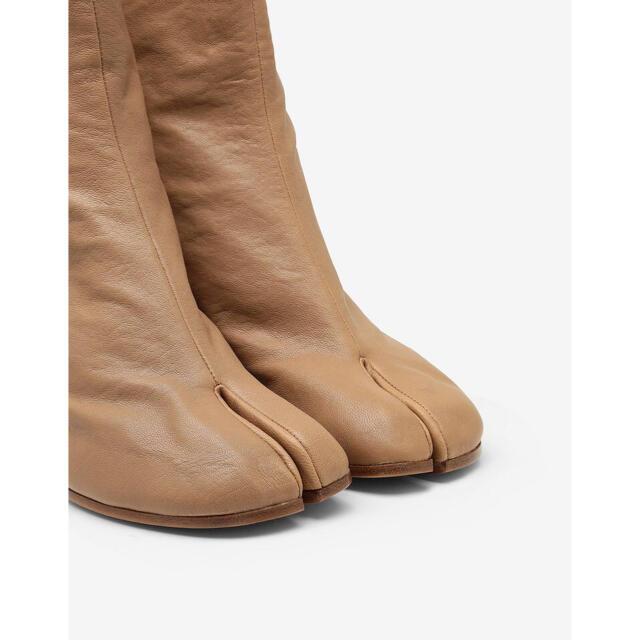 Maison Martin Margiela(マルタンマルジェラ)の新品正規品 Maison Margiela ヴィンテージレザー 足袋ブーツ レディースの靴/シューズ(ブーツ)の商品写真