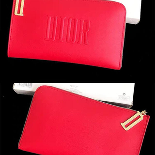 Christian Dior - 最新 ディオール ノベルティ ポーチ レッド 新品未使用正規品