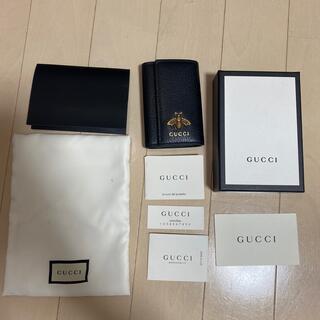Gucci - 【GUCCI】レザー キーケース 蜂 Bee 付属品完備
