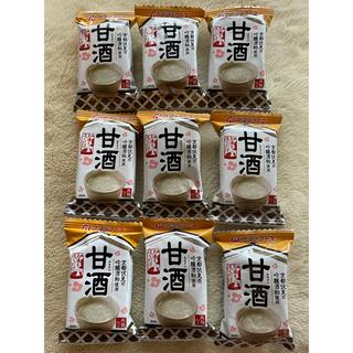アサヒ(アサヒ)の甘酒 フリーズドライ アマノフーズ 9個(インスタント食品)