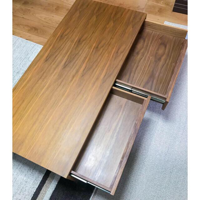 専用ページ【美品】テーブル ローテーブル 定価63500円 インテリア/住まい/日用品の机/テーブル(ローテーブル)の商品写真
