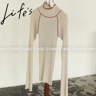 TODAYFUL - TODAYFUL【未使用に近い】Raglan Stripe Knit