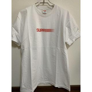 シュプリーム(Supreme)のSupreme Motion Logo Tee 白 L 16ss(Tシャツ/カットソー(半袖/袖なし))