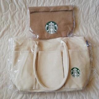 スターバックスコーヒー(Starbucks Coffee)のSTARBUCKS スターバックス福袋2021 トートバッグセット(トートバッグ)