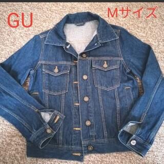 ジーユー(GU)のGU デニムジャケット Mサイズ(Gジャン/デニムジャケット)