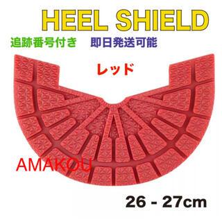 ヒールシールド HEEL SHIELD   Mサイズ レッド(スニーカー)