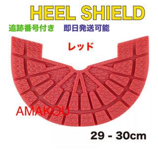 ヒールシールド HEEL SHIELD   XLサイズ レッド(スニーカー)