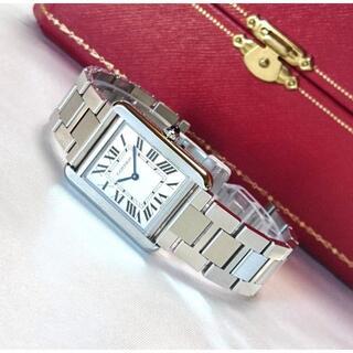 Cartier - ❤️極美品❤️ カルティエ タンクソロ レディース SM スティール 腕時計❤️