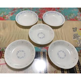 コレール(CORELLE)のコレールのお皿 二柄 5枚(食器)