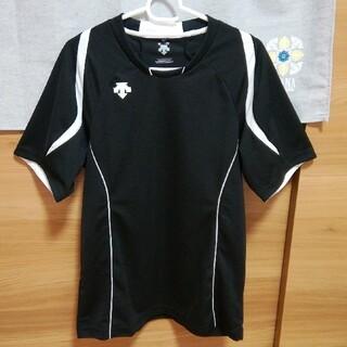 DESCENTE - DESCENTE 半袖プラシャツ メンズ Mサイズ