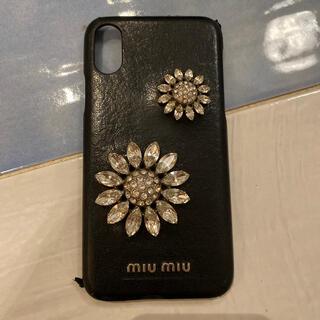 miumiu - miumiu iPhone X 携帯ケース