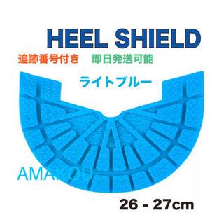 ヒールシールド HEEL SHIELD   Mサイズ ライトブルー(スニーカー)