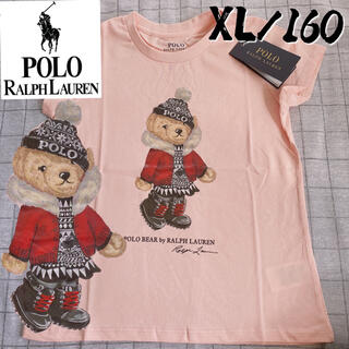 Ralph Lauren - 新作 ラルフローレン レディース半袖160 MサイズポロベアTシャツ
