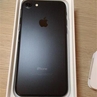 iPhone - iPhone7 ブラック SIMフリー