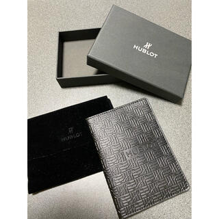 ウブロ(HUBLOT)のHUBLOT ウブロ カードケース パスポート ノベルティ 非売品(ノベルティグッズ)