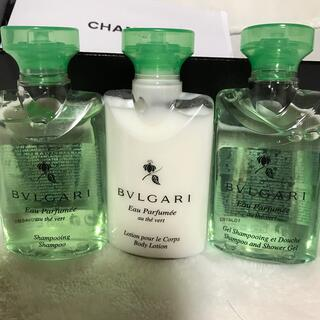 ブルガリ(BVLGARI)のブルガリ 新品未使用未開封✨3点セットです(サンプル/トライアルキット)