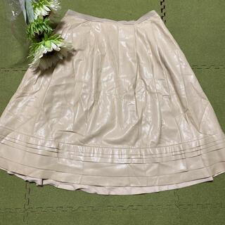 フォクシー(FOXEY)の16日限定価格!フォクシー☆ベージュの素敵なスカート(ひざ丈スカート)