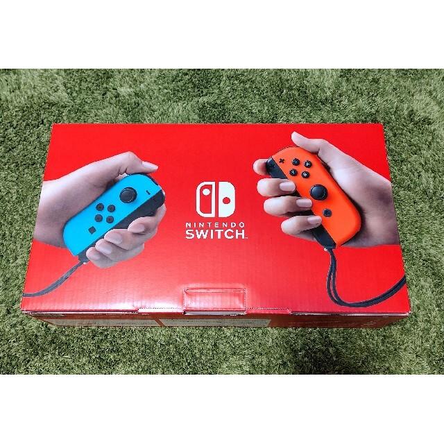 新品 未使用 スイッチ switch 新型 本体 ネオン  Nintendo エンタメ/ホビーのゲームソフト/ゲーム機本体(家庭用ゲーム機本体)の商品写真
