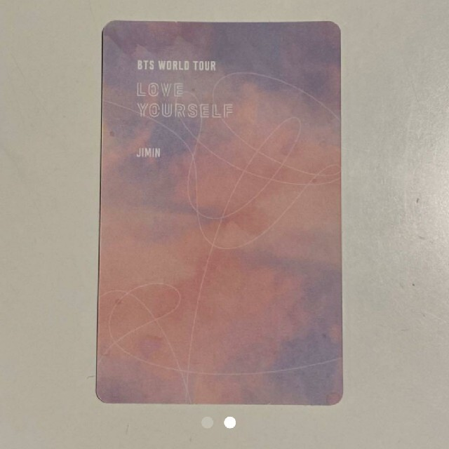 防弾少年団(BTS)(ボウダンショウネンダン)のしょこまる様。LOVE YOURSELF SOUL DVD トレカ ジミン エンタメ/ホビーのCD(K-POP/アジア)の商品写真