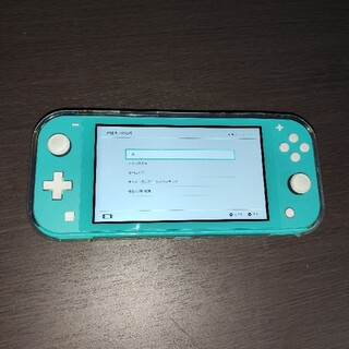 Nintendo Switch - スイッチライト SwitchLight ターコイズブルー
