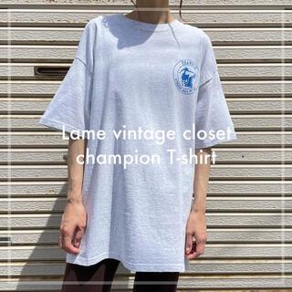 Champion - 古着 チャンピオン カレッジプリント Tシャツ ユニセックス ビンテージ