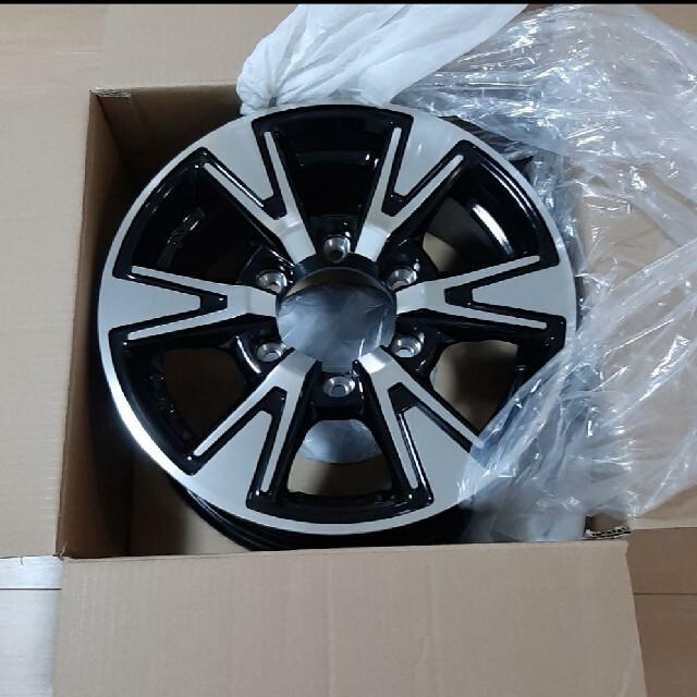 ホイール15inch 新品未使用 KOSEI ハイエース 自動車/バイクの自動車(タイヤ・ホイールセット)の商品写真