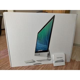 Apple - iMac 27インチ 2013 late メモリー32G 梱包済み