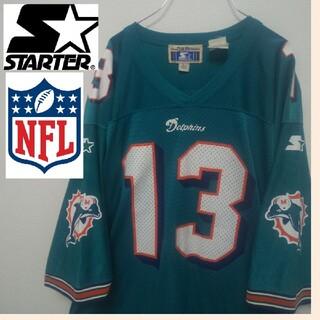 starter スターター NFL アメフト ドルフィンズ ユニフォーム