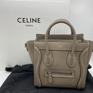 celine - CELINE ラゲージ ナノ ショッパー 2WAYバッグ