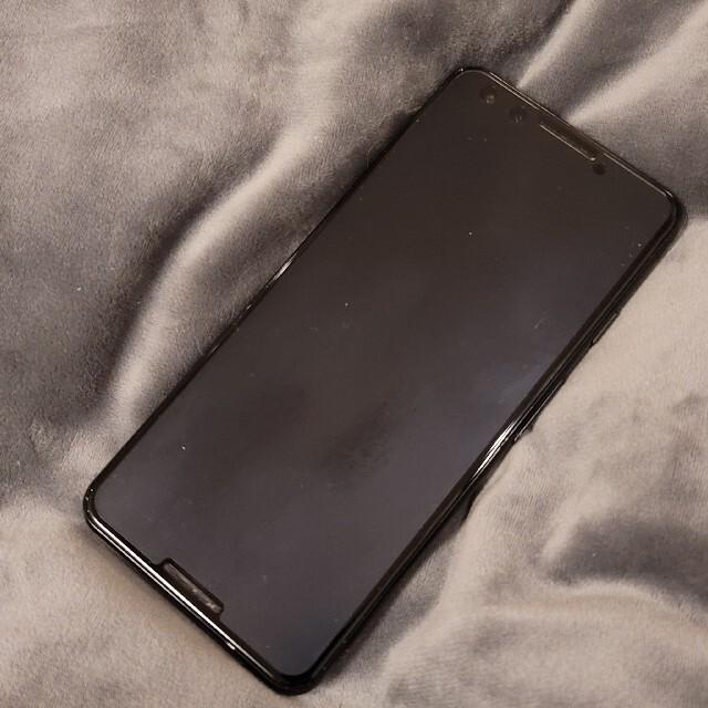 Google Pixel(グーグルピクセル)の【美品】Pixel 3 SIMフリー黒 128GB 日本版 スマホ/家電/カメラのスマートフォン/携帯電話(スマートフォン本体)の商品写真