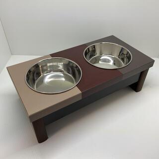 【犬・猫用】エサ入れ・エサ受け・フードテーブル・フードボウル80