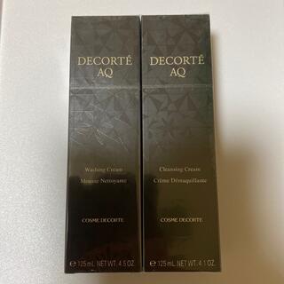 COSME DECORTE - コスメデコルテ AQクレンジングクリーム&ウォッシング クリーム